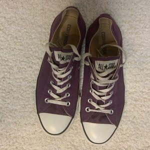 Converse All Star Purple size 10